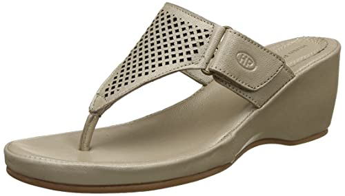 8a52a7dda4ee Hush Puppies Women s Amarlysis Dia Beige Leather Slippers-4 UK India (37 EU