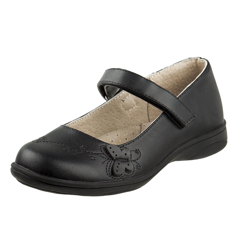 Laura Ashley Girls Hook and Loop School Uniform Shoes (Toddler/Little Kid/Big Kid)
