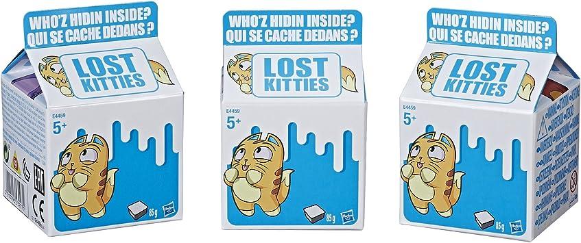 Neu Lost Kitties 3er Set MilchtüTe Mit KäTzchen SammelkäTzchen Sammlung Geeignet