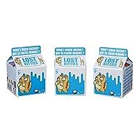 Hasbro Lost Kitties - Cestino di 3 Blind Bag Cartone del Latte, Personaggi Gattini Assortiti, E4665