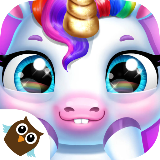 Magic Pony Care - My Baby Unicorn - Cute Rainbow Pet Care & Dress Up