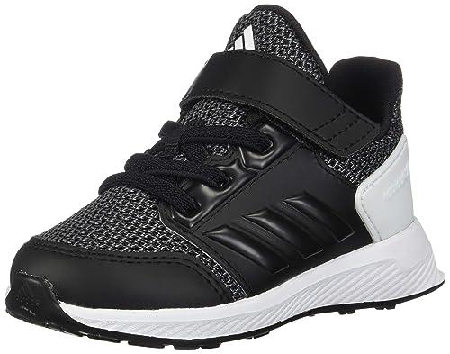 pretty nice 70ae6 1ee09 adidas Kid s RapidaRun EL Athletic Shoes, Core Black Core Black Grey, 4K