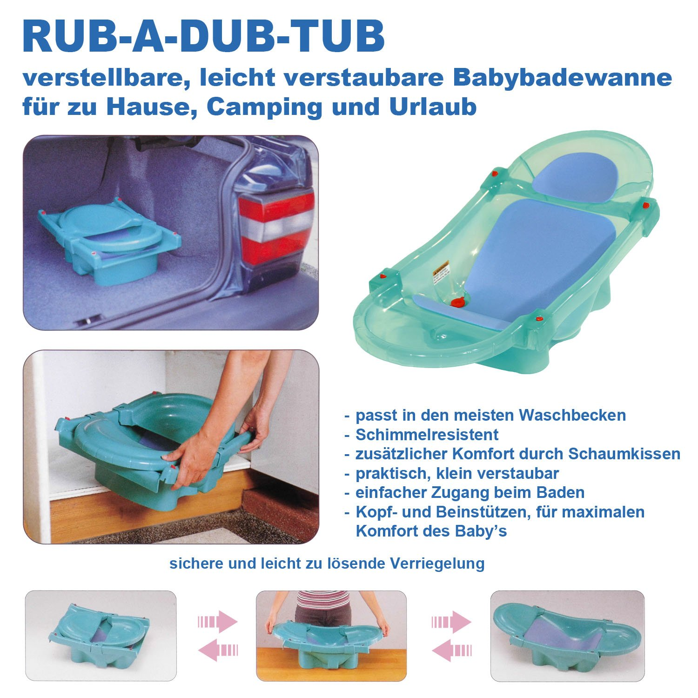 Blau Zekiwa 801//814-02 Babybadewanne Design