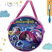 Nifogo Sängtält, pop up tält för barn speltält inomhus, barnens lekrum, magiskt speltält, pojkar och flickor julklappar…