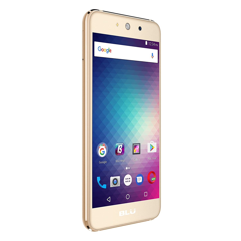 Amazon BLU Grand M G070Q Unlocked GSM Quad Core Dual SIM Phone Gold Cell Phones & Accessories
