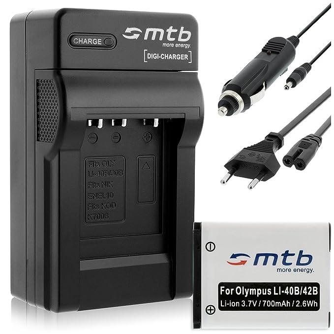 Ladegeräte und Dockingstationen für Olympus FE Kamera