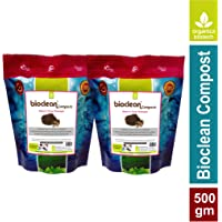 Bioclean Compost -Microbial Powder for Odour Free & Superior composting (Two Packs X 250 GMS)