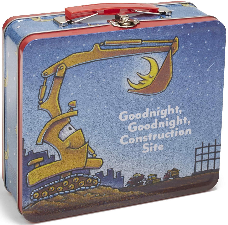 Goodnight Goodnight Construction Site Tin Lunch Box 7.75 7.75 Kids Preferred 91504