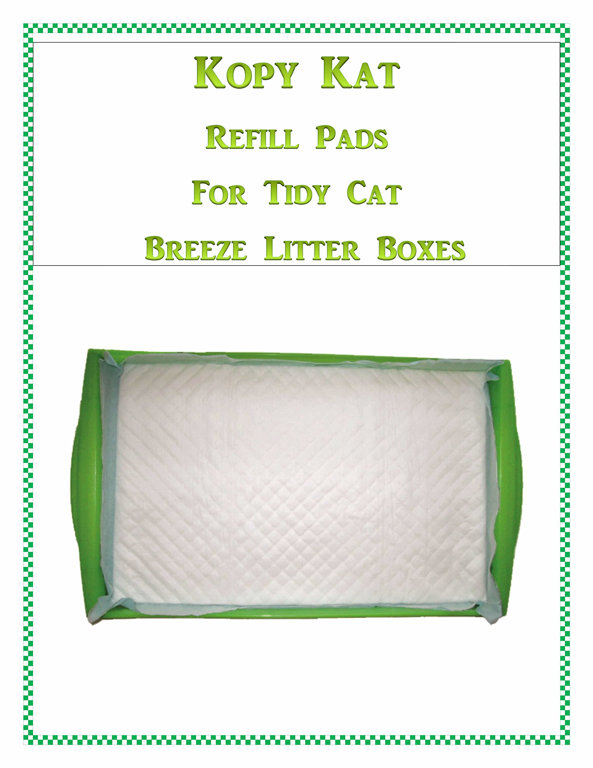 Kopy Kat Refill Pads for Tidy Cat Breeze Litter Boxes 160ct