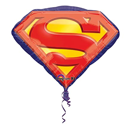 Superman Foil Or Super Balloon Party Child's Birthday For Hero Large D9IWE2H