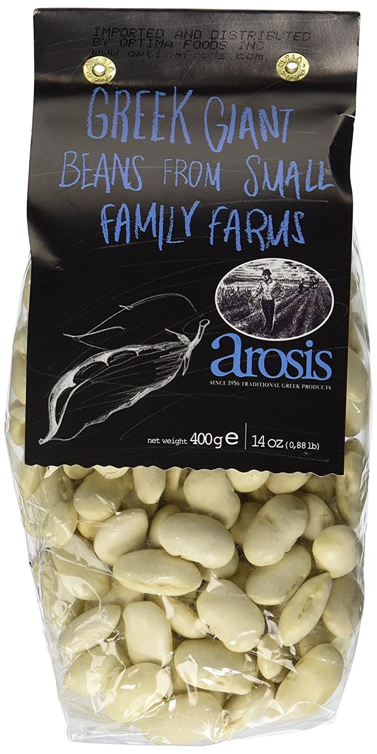 Arosis Dry Giant Beans, 14 oz