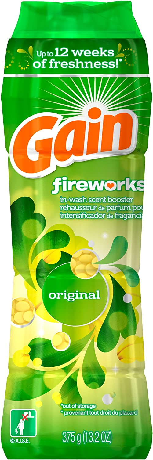 Gain Fireworks In-Wash Scent Booster, Original Scent, 375g