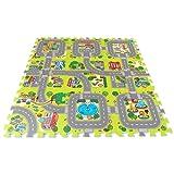Brigamo 18011 - ☀ Stadt Puzzlematte unendlich erweiterbar! ☀