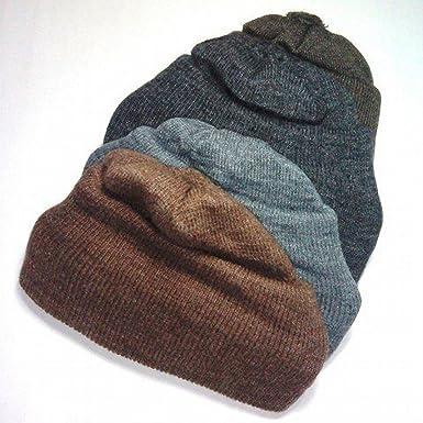 30f9ecfd26c Woolen Skull Cap - Grey  Amazon.in  Clothing   Accessories