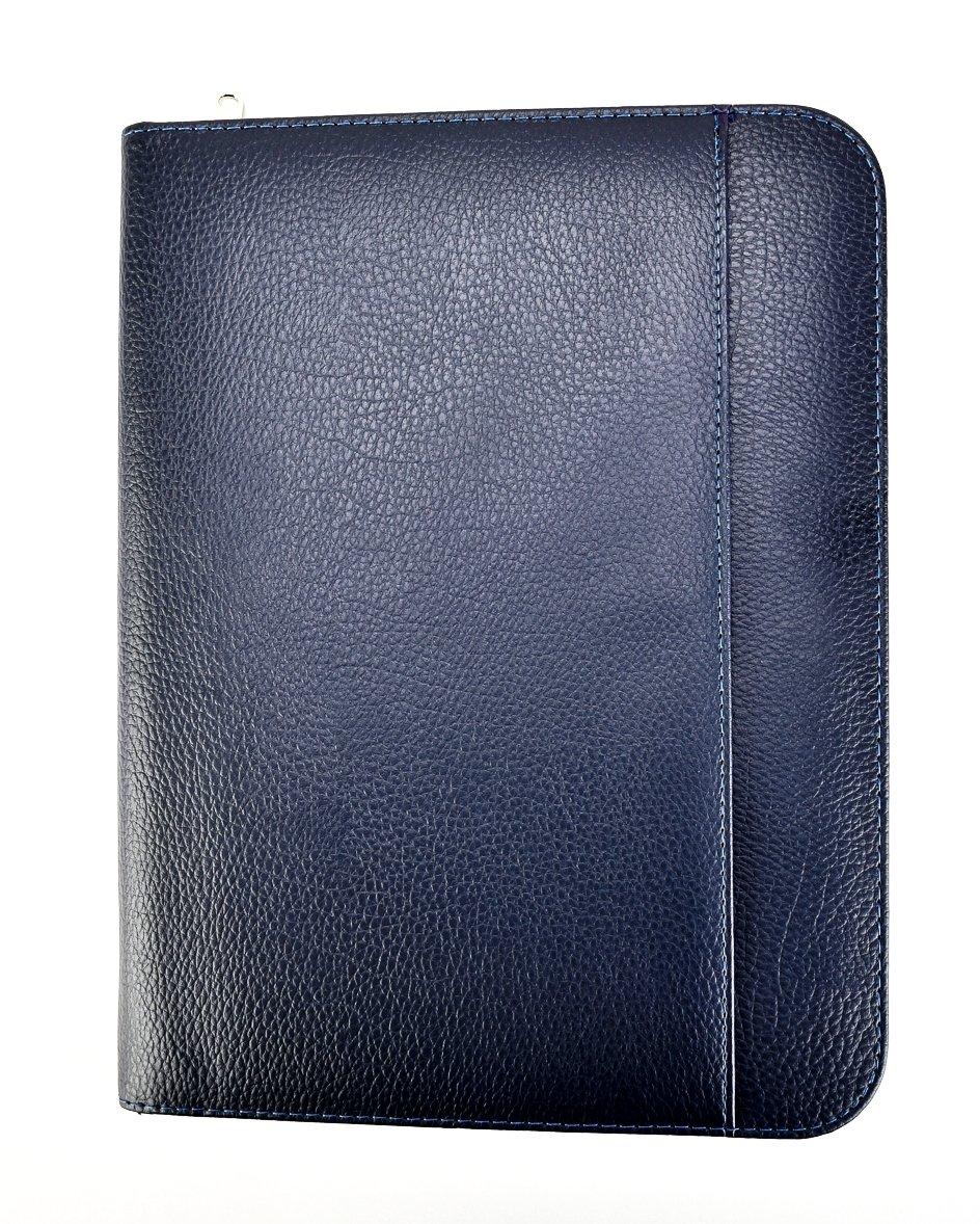 A4 File Folder for Personal, Executive, Professionals,folio Writing Pad Business Presentation Folder Portfolio - Blue ARPAN CL-913