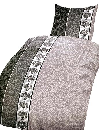 Leonado Vicenti 4 Teilige Microfaser Bettwäsche 155x220 Cm Ranke