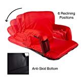 Home-Complete HC-3002-RED Wide Stadium Seat Chair