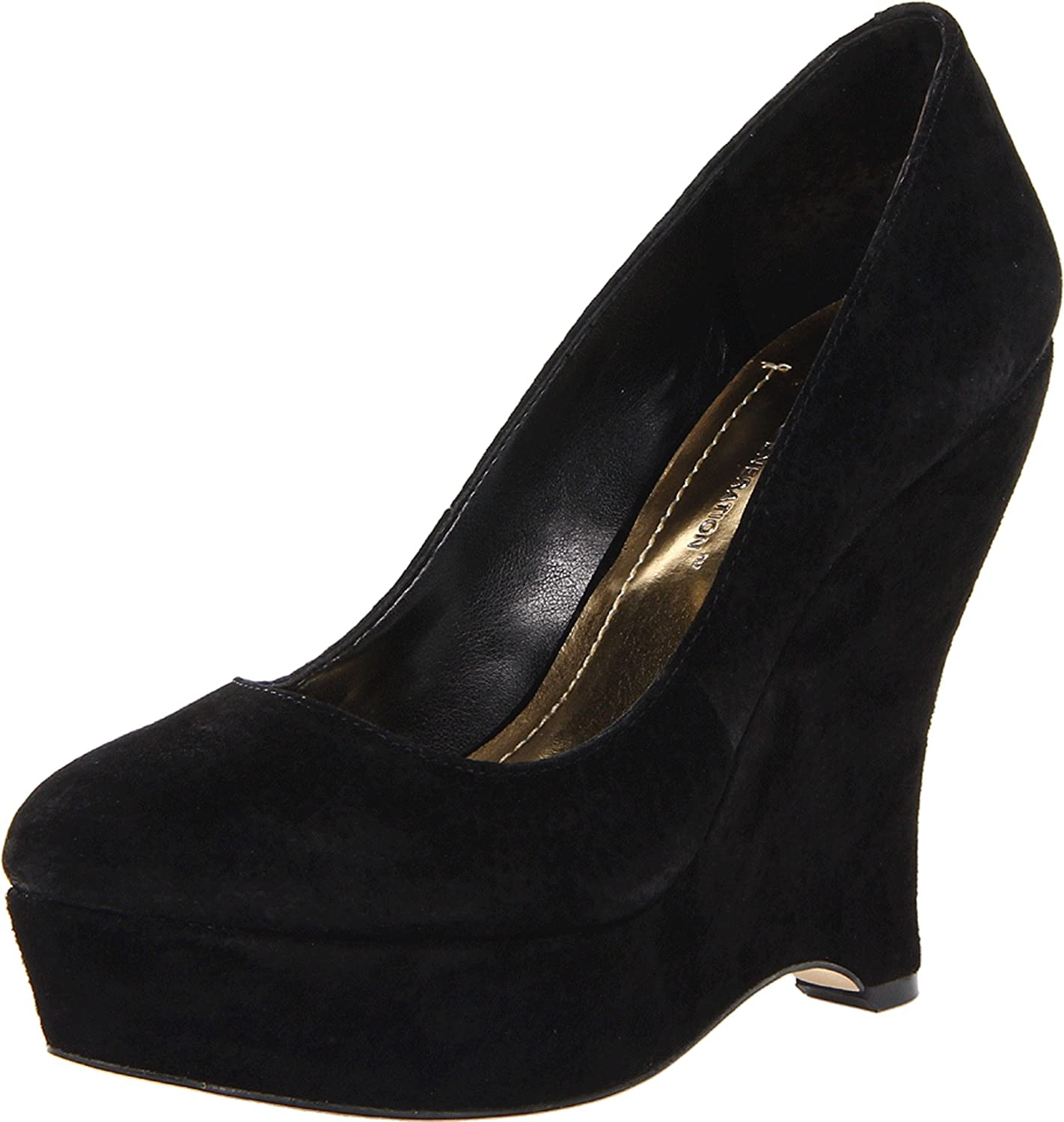 BCBGeneration Women's Carleen Wedge Pump B00CC9V4GQ 10 B(M) US|Black