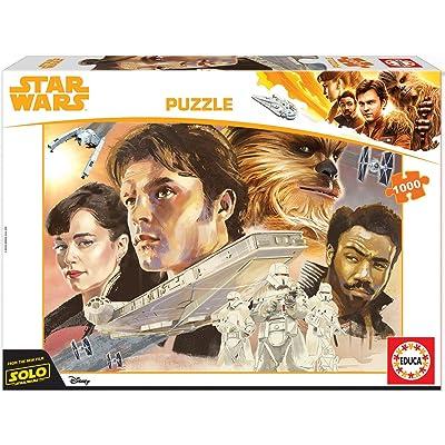 Educa Borrás- Star Wars Puzle 1000 Han Solo, (17682): Juguetes y juegos