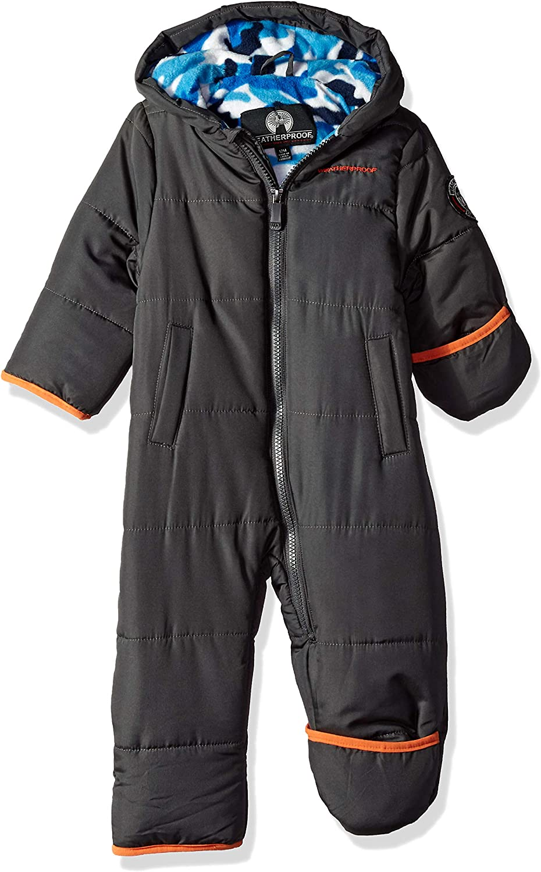 Weatherproof Baby Boys Pram with Camo Sherpa Lining