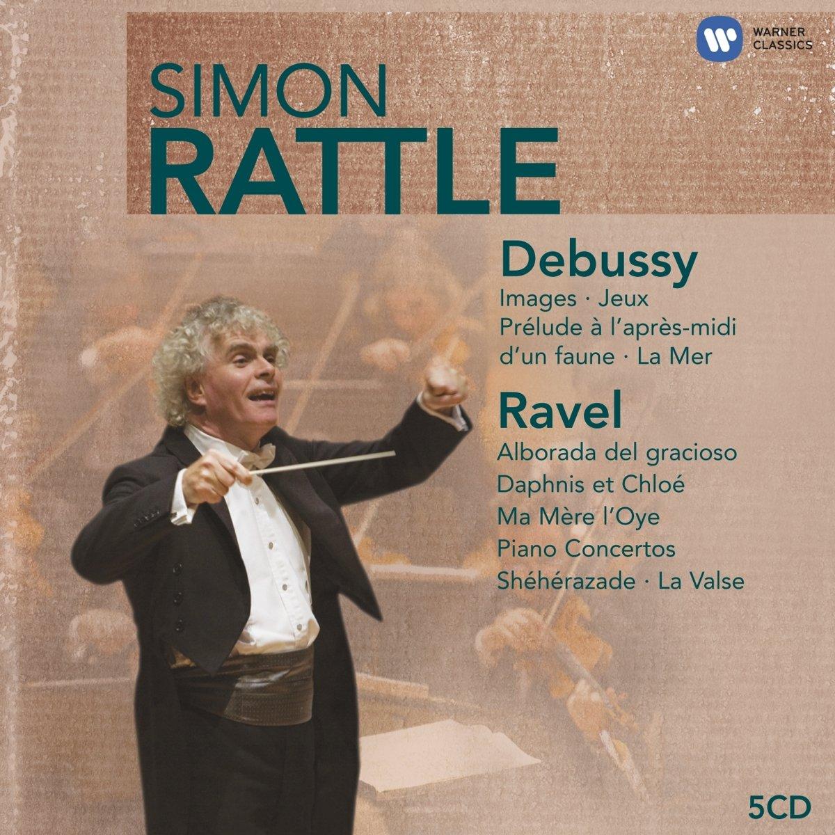 Debussy/Ravel: Orchestral Works - Images; Jeux; La Mer; La Boite a Joujoux; Daphnis et Chloé; Jeux; Bolero by Warner Classics