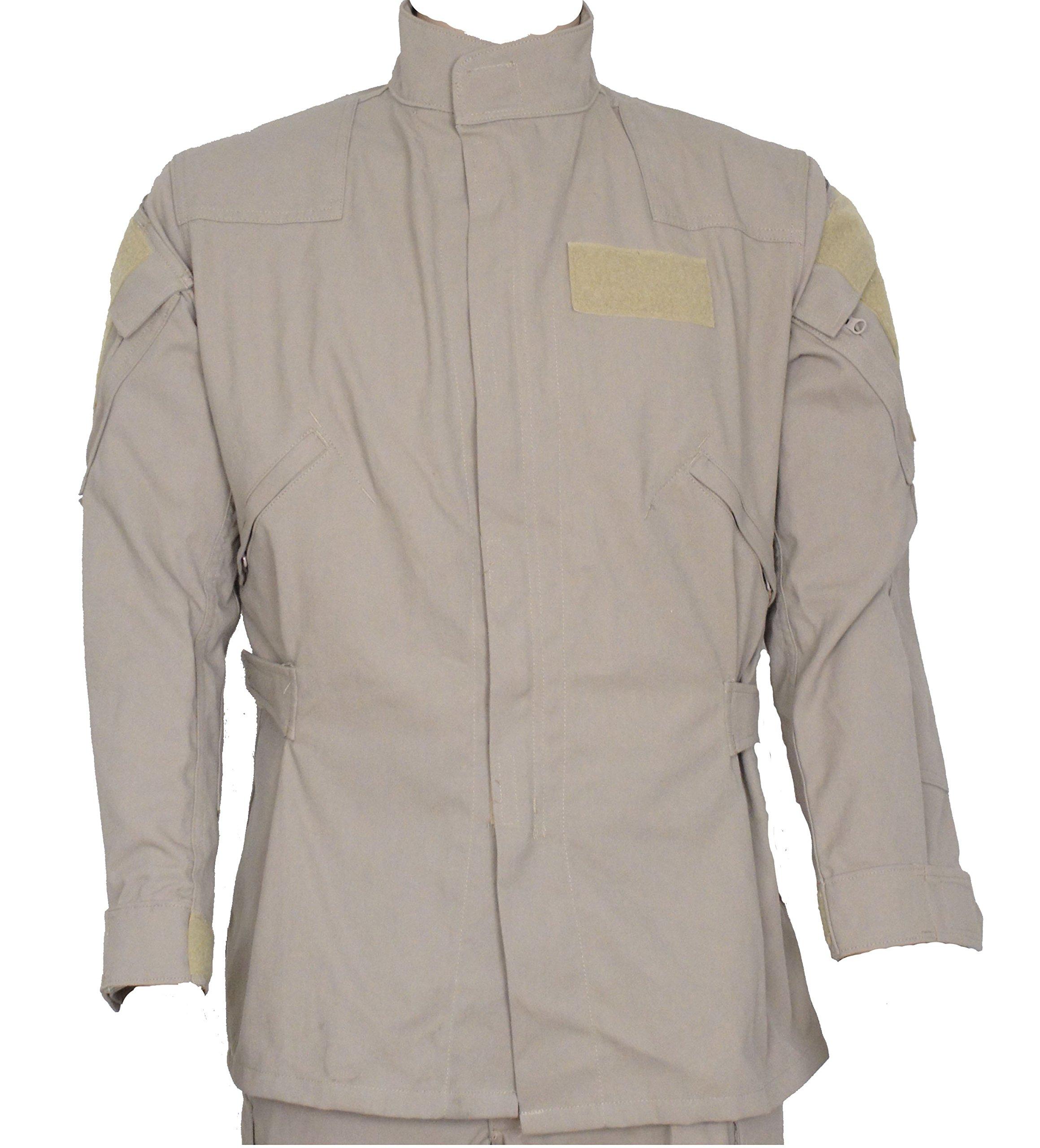 Drifire Phoenix II Fire Resistant Flight Suit Khaki Jacket US Army XLarge Short