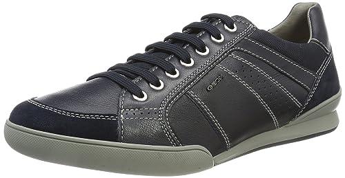 best loved ffa80 f20d5 Geox Men's U Kristof Sneakers, Navy, 40 EU/7 M US: Amazon.ca ...