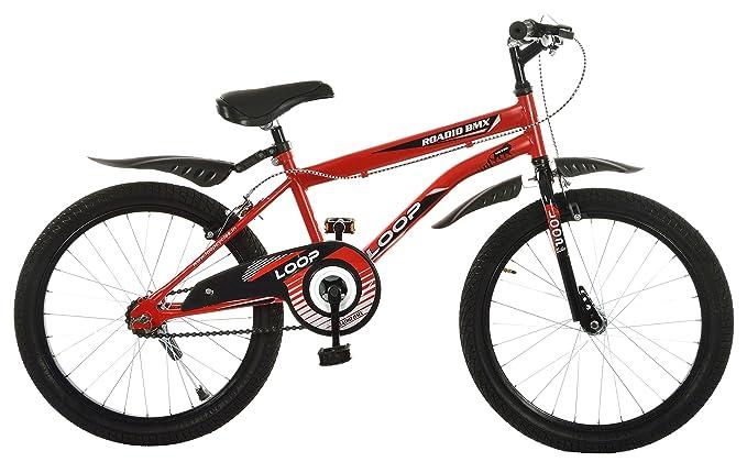 Loop Bikes 20T Single Speed Kids Cycle (Red )