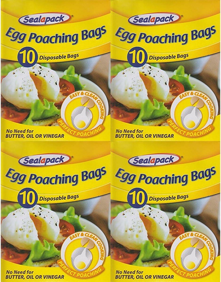 Egg Braconnage Sacs Pour Easy Clean Cooking et parfait BRACONNAGE.