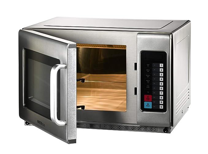 Microondas con función de aire caliente y grill, 34 litros ...