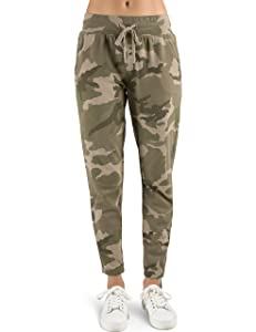 7. Rebel Canyon Young Women's Vintage Wash French Jogger Sweatpants