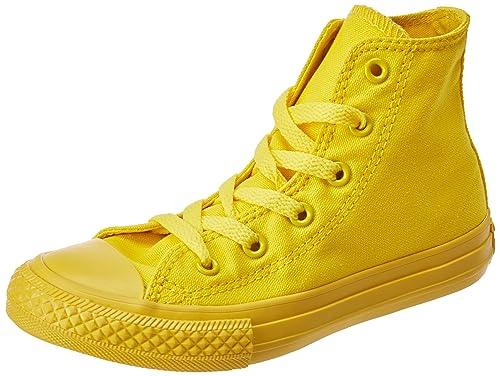 converse ctas hi sneaker gold unisex bambino