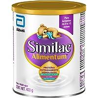 Alimentum   Fórmula Infantil con Proteína Hidrolizada y Hierro para Bebés de 0 a 12 Meses   400g