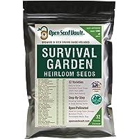 Survival Garden 15000 Non GMO Heirloom Vegetable Seeds