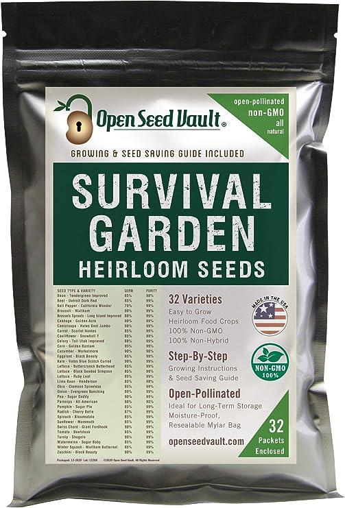 15,000 Heirloom Vegetable Seed Pack Kit Vegetable Seed Packs Bank IN STOCK!