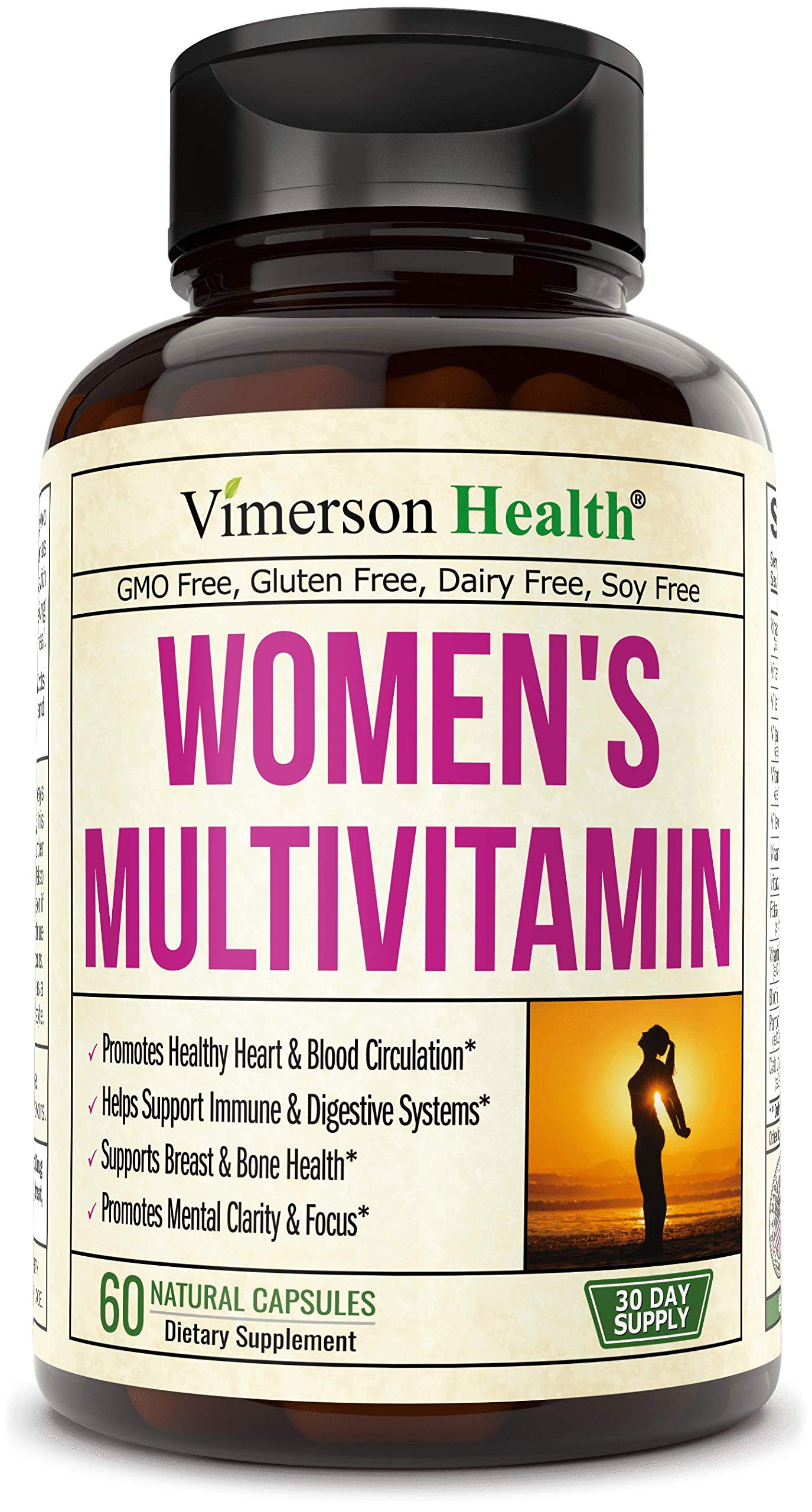 Women's Daily Multivitamin Multimineral Supplement. Vitamins and Minerals. Chromium