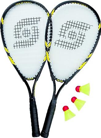 3er Set Sonic Speed Baddminton Bälle Federbälle gelb Sunflex Badminton