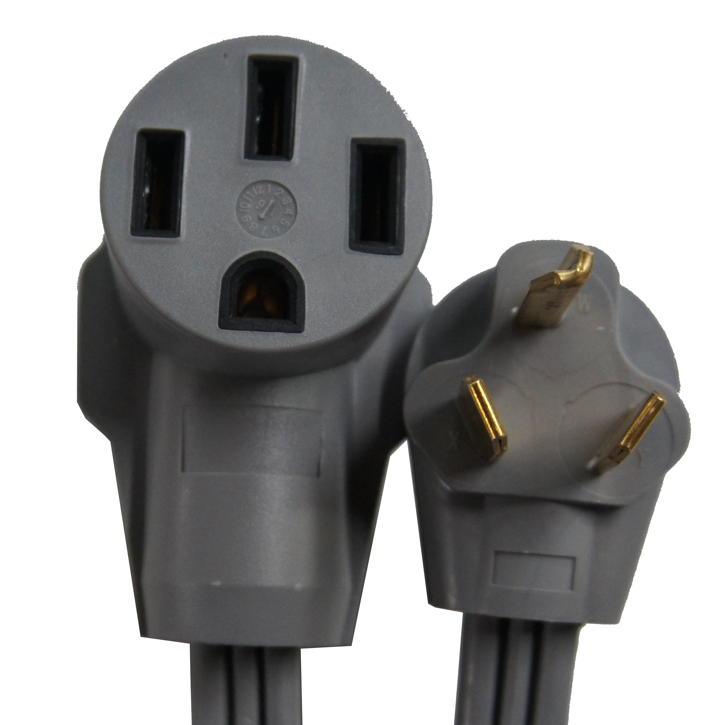 Gomadic Electric Vehicle NEMA 14-50 to NEMA 10-30P Outlet Adapter Cable - Perfect for Tesla and EV Cars by Gomadic