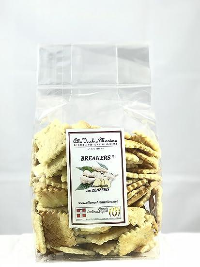 breakers snack salato cúrcuma (jengibre)
