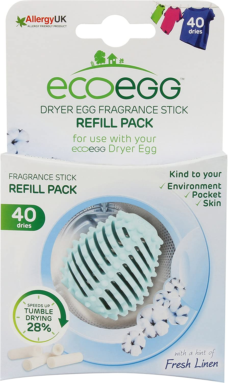 ecoegg EEDER40FL Dryer Egg Refills, Fresh Linen