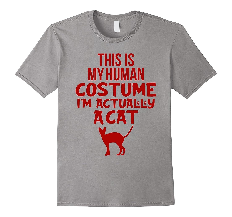 Funny Cat Costume Halloween Shirts For Kids-FL