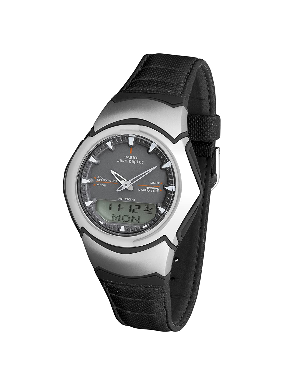CASIO 19933 WVA 104HLE 8A Reloj Caballero Cuarzo Correa