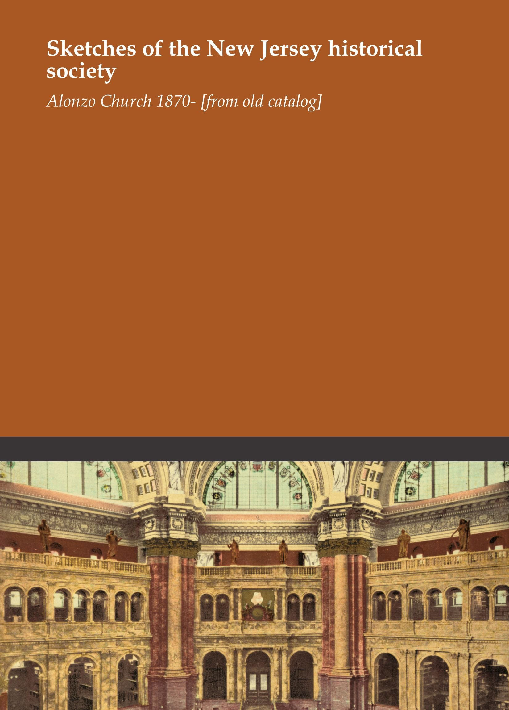 Download Sketches of the New Jersey historical society pdf