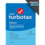 TurboTax Deluxe 2020 Desktop Tax Software, Federal and State Returns + Federal E-file [Amazon Exclusive] [PC Download]