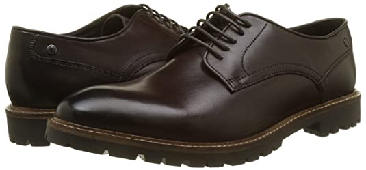 Base London Mens Barrage Washed Derby Leather Shoes: Amazon.ca: Shoes &  Handbags