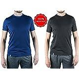 Alpin Loacker Premium Merino T-Shirt für Herren - 100% Merinowolle, 17.5 Micron - Die Merino Unterwäsche für alle Aktivitäten!