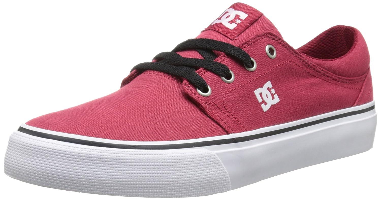 DC Men's Trase TX Unisex Skate Shoe B00L9DTOLS 10.5 B(M) US|Dark Red
