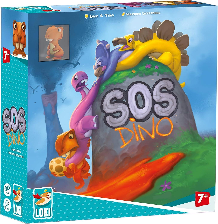 Lúdilo SOS Dino, multicolor (51474) , color/modelo surtido: Amazon.es:  Juguetes y juegos