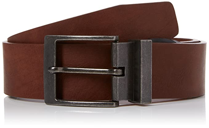 afe34c2a30f4 New Look Smart Casual, Ceinture Homme, Brown (Mid Brown), XXS-XS ...
