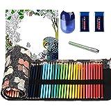 ThEast 48 Colored Pencils, Premier Color Pencils for Adult Coloring Book, Artist Soft Core Oil Based Color Pencil Sets, Inclu